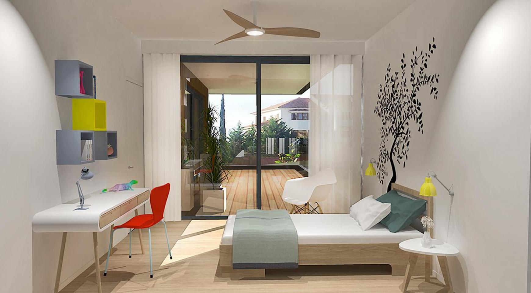 Современная 3-Спальная Квартира в Новом Комплексе в Районе Agios Athanasios - 6