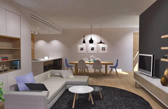 Современная 3-Спальная Квартира в Новом Комплексе в Районе Agios Athanasios