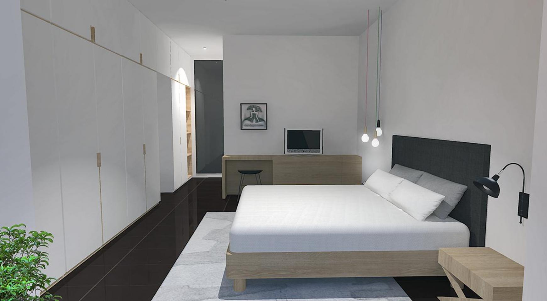 Современная 2-Спальная Квартира в Новом Комплексе в Районе Agios Athanasios - 9
