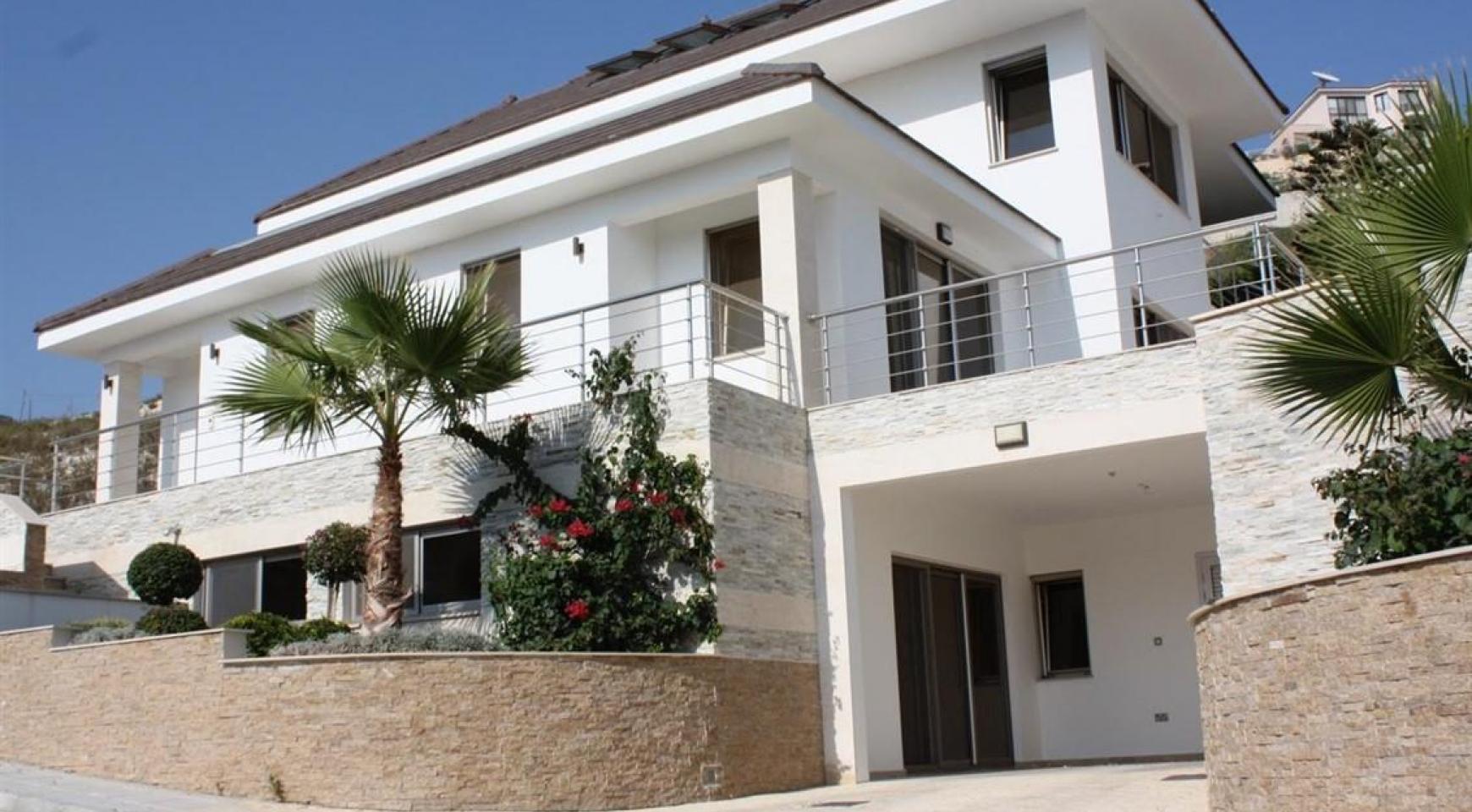 Новая Элитная 5-Спальная Вилла с Изумительными Видами в Районе  Agios Tychonas - 2