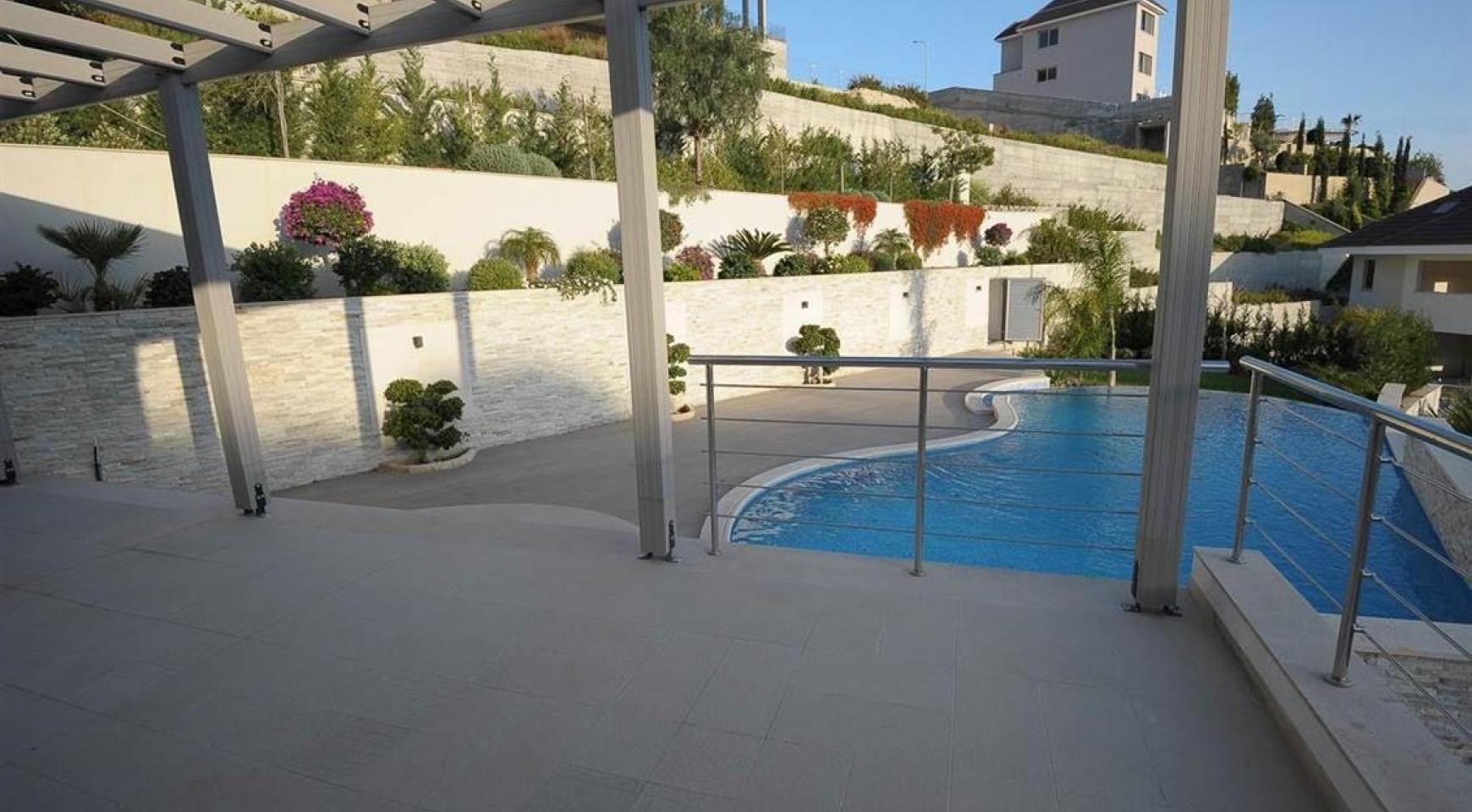 Новая Элитная 5-Спальная Вилла с Изумительными Видами в Районе  Agios Tychonas - 3