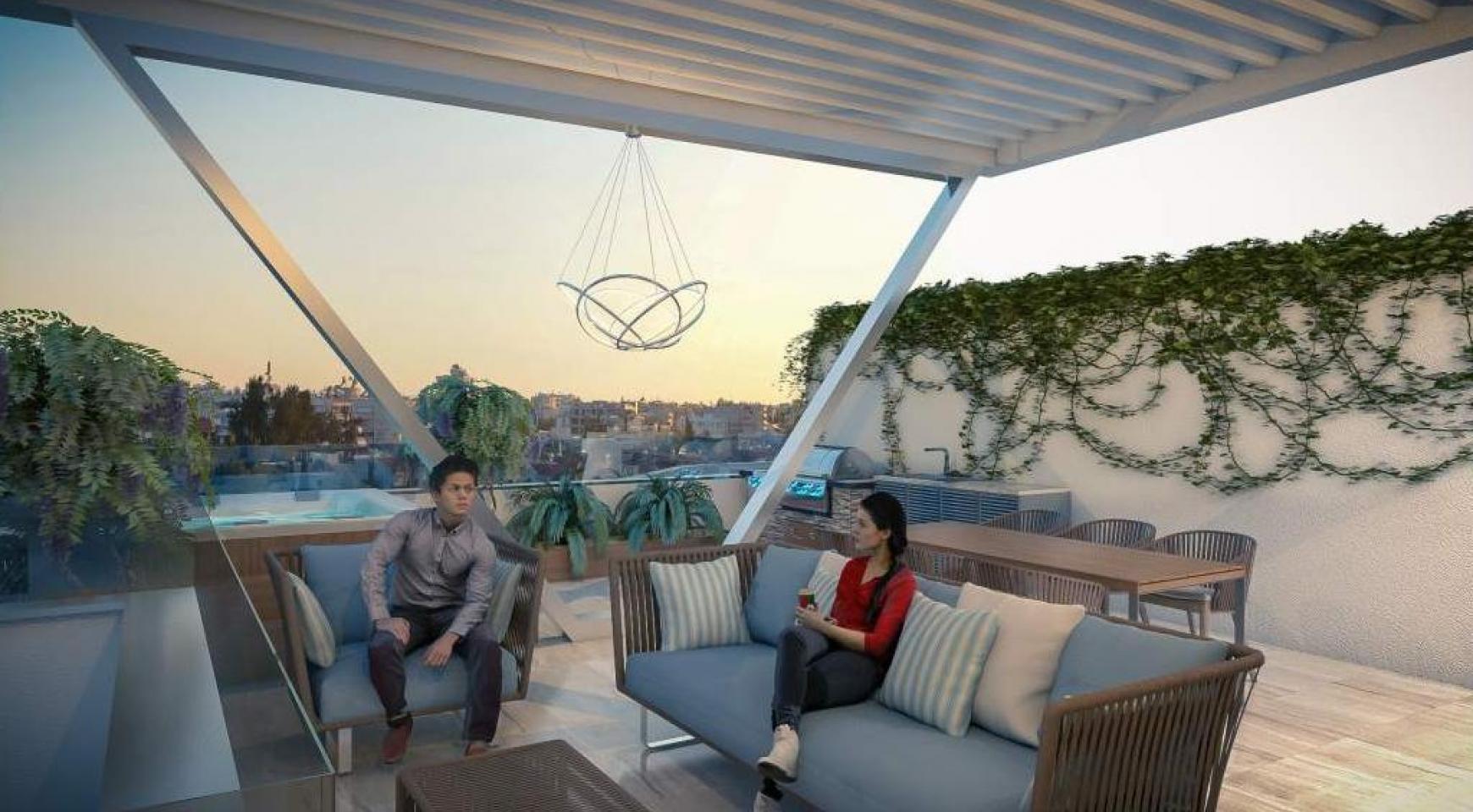 Новая 2-Спальная Квартира в Современном Комплексе возле Моря - 9