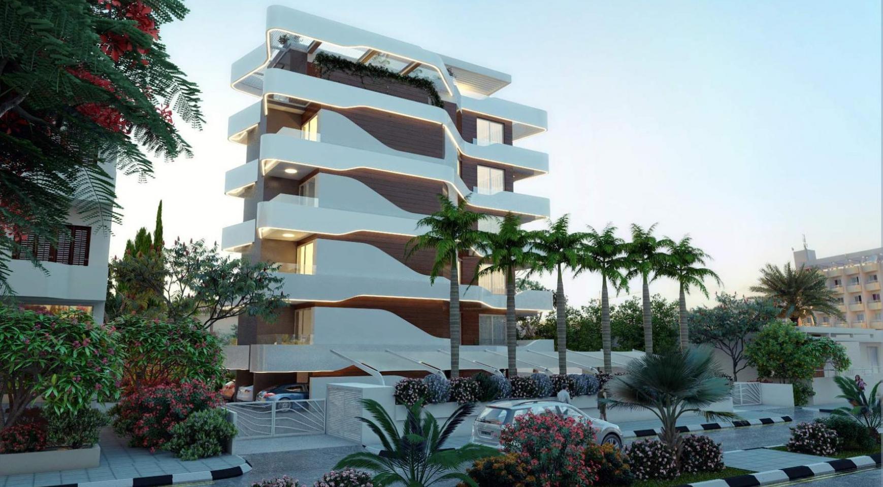 Новая 2-Спальная Квартира в Современном Комплексе возле Моря - 2