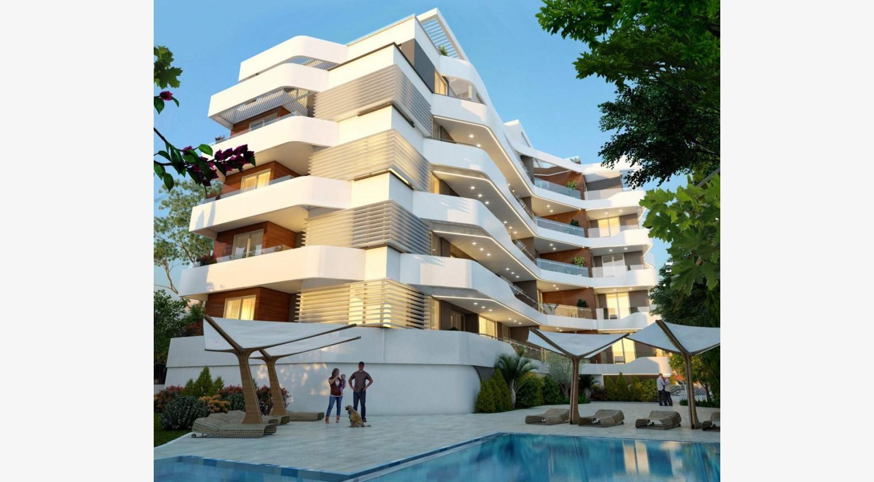 Новая 2-Спальная Квартира в Современном Комплексе возле Моря - 3