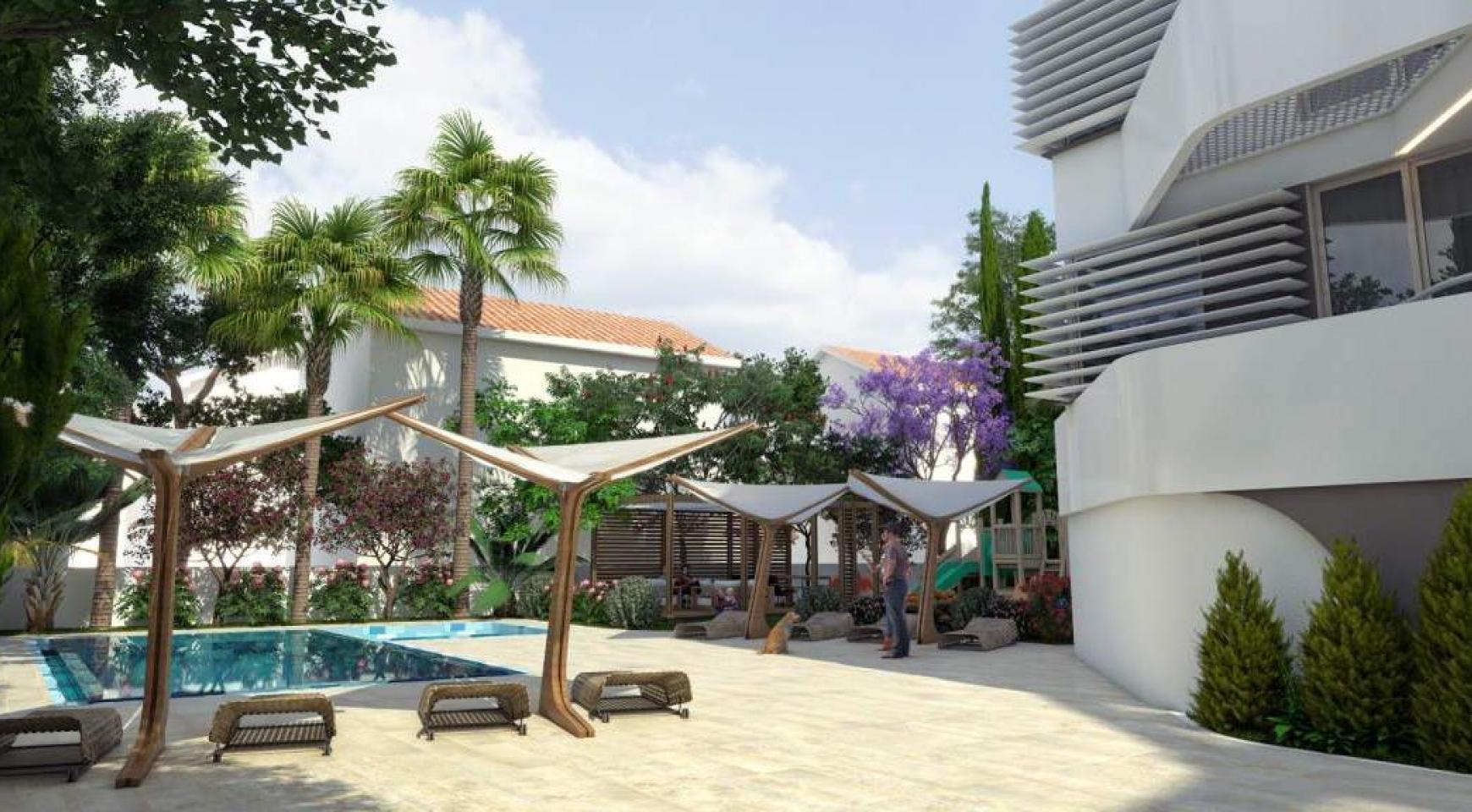 Новая 2-Спальная Квартира в Современном Комплексе возле Моря - 14