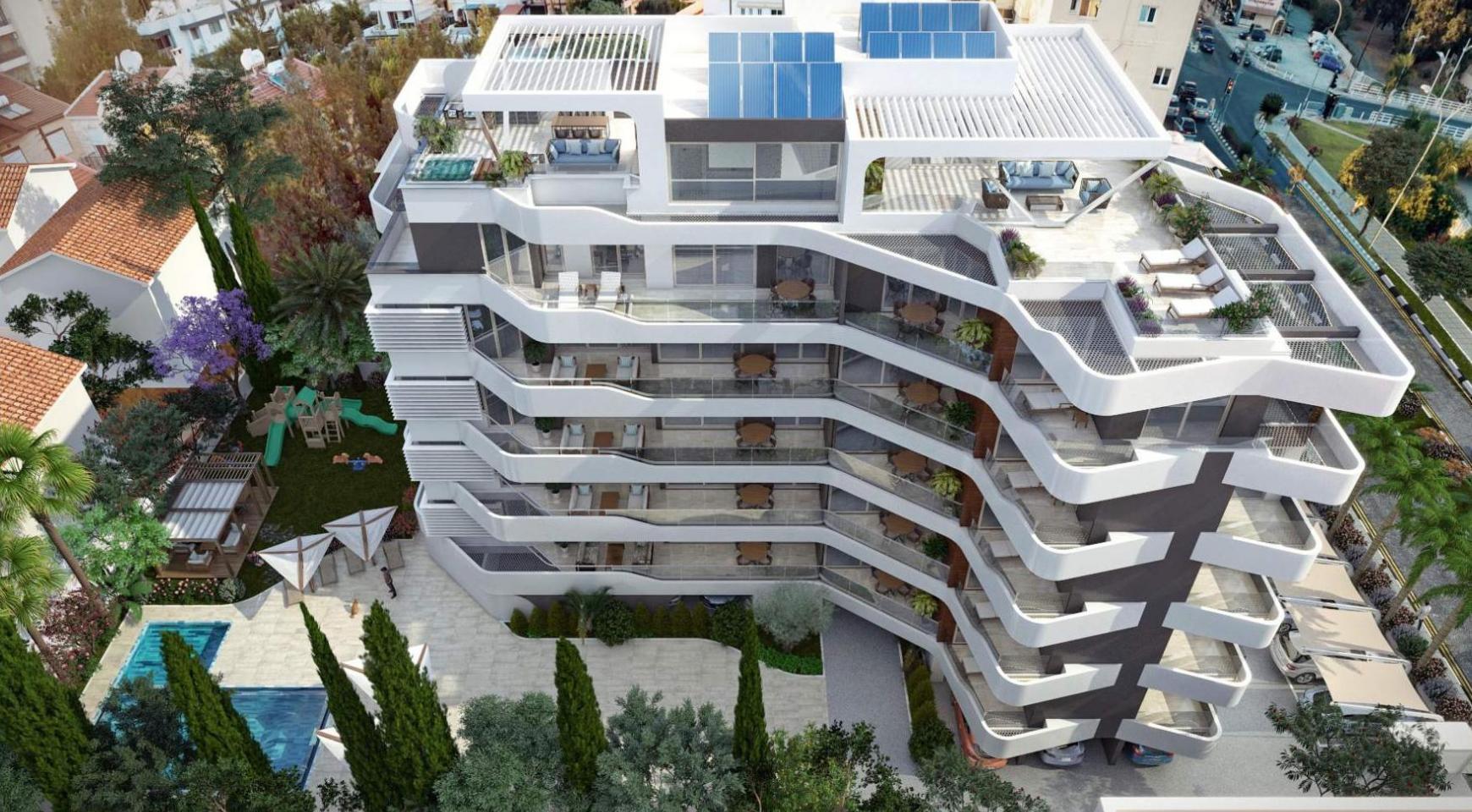 Новая 2-Спальная Квартира в Современном Комплексе возле Моря - 8
