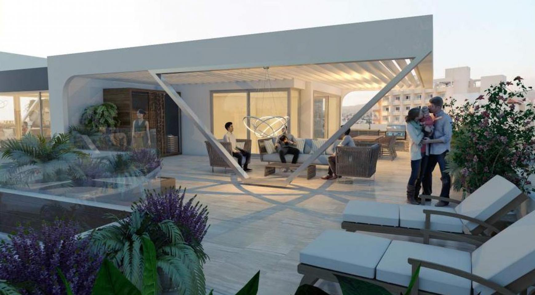 Новая 2-Спальная Квартира в Современном Комплексе возле Моря - 10