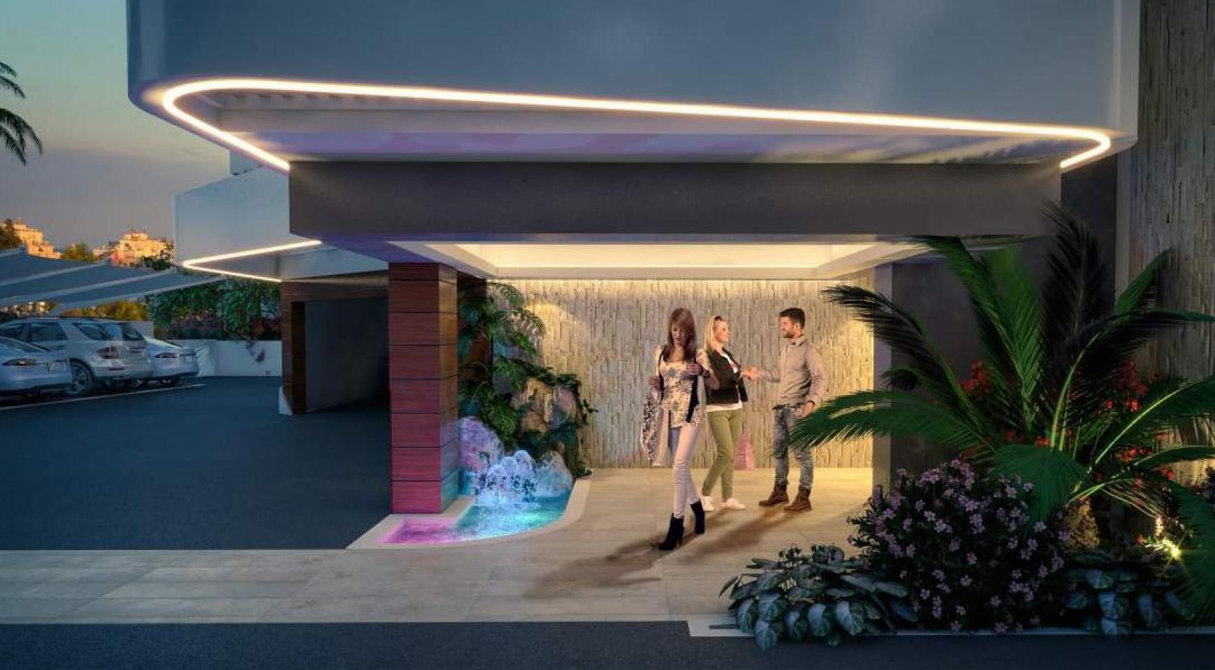 Новая 2-Спальная Квартира в Современном Комплексе возле Моря - 7