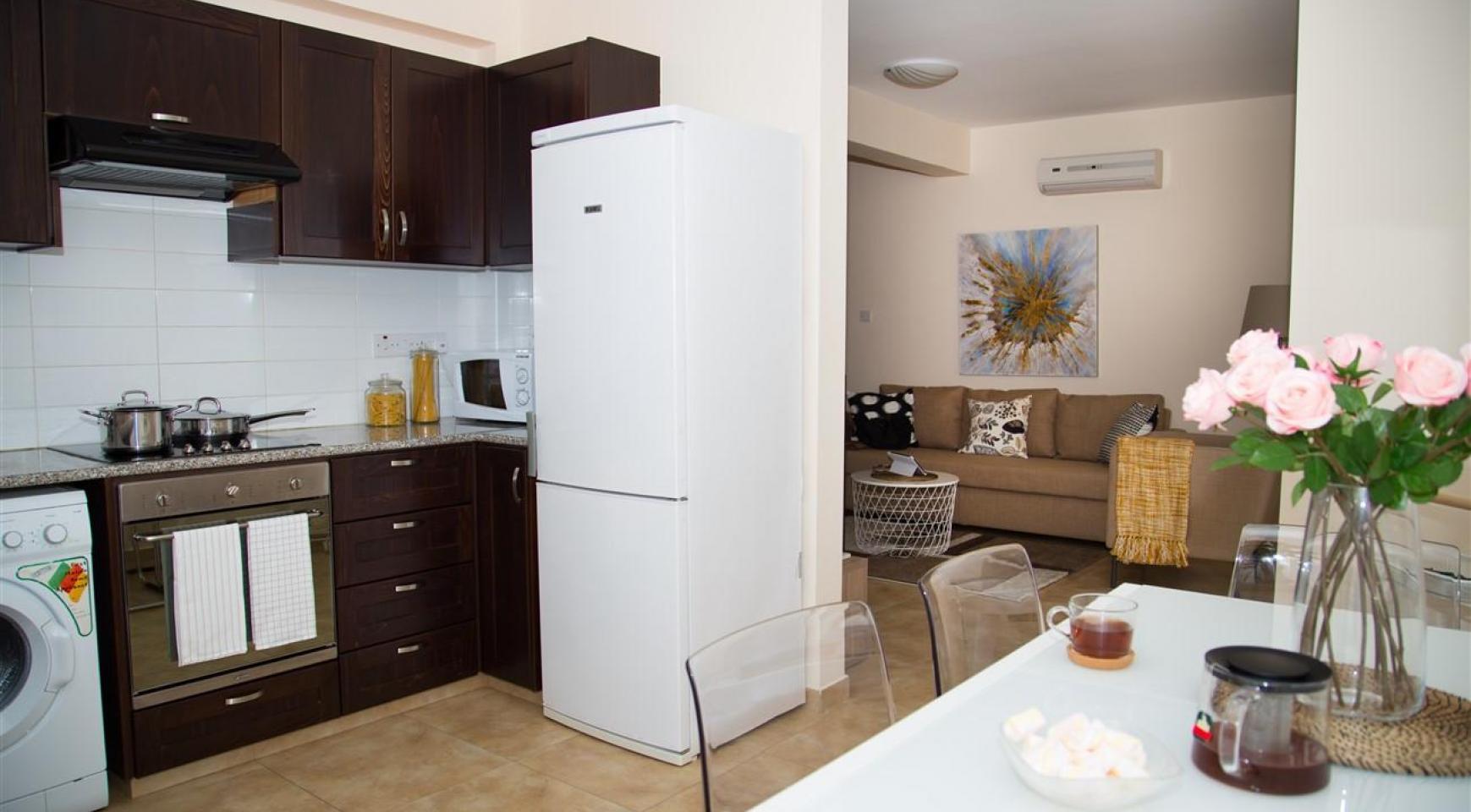 Frida Court. Уютная 2-Спальная Квартира 201 в Районе Potamos Germasogeia - 4