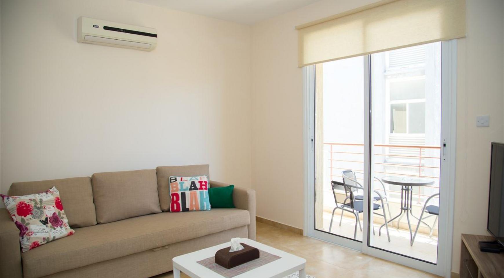 Frida Court. Уютная Просторная Односпальная Квартира 103 в Районе Potamos Germasogeia - 2