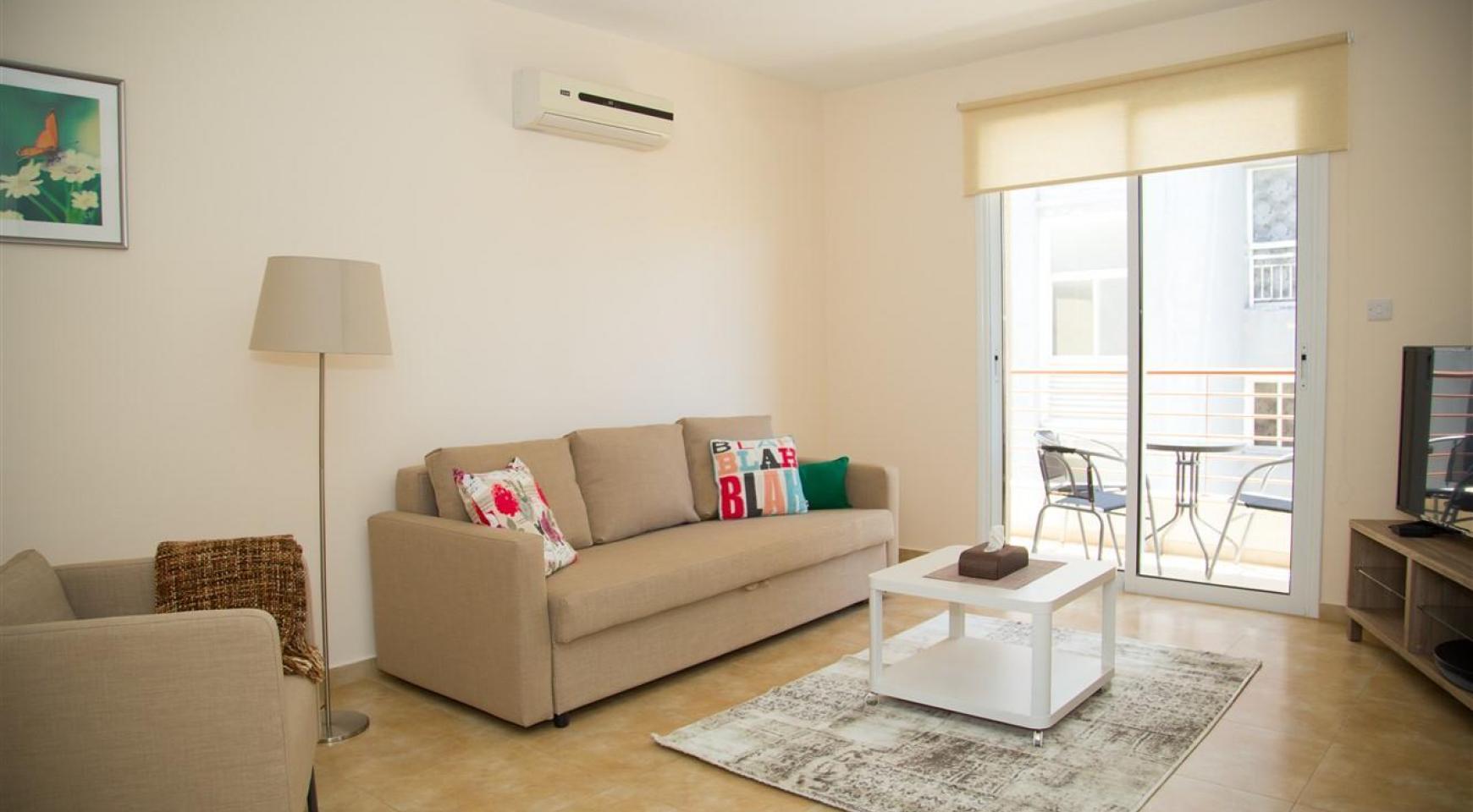 Frida Court. Уютная Просторная Односпальная Квартира 203 в Районе Potamos Germasogeia - 2
