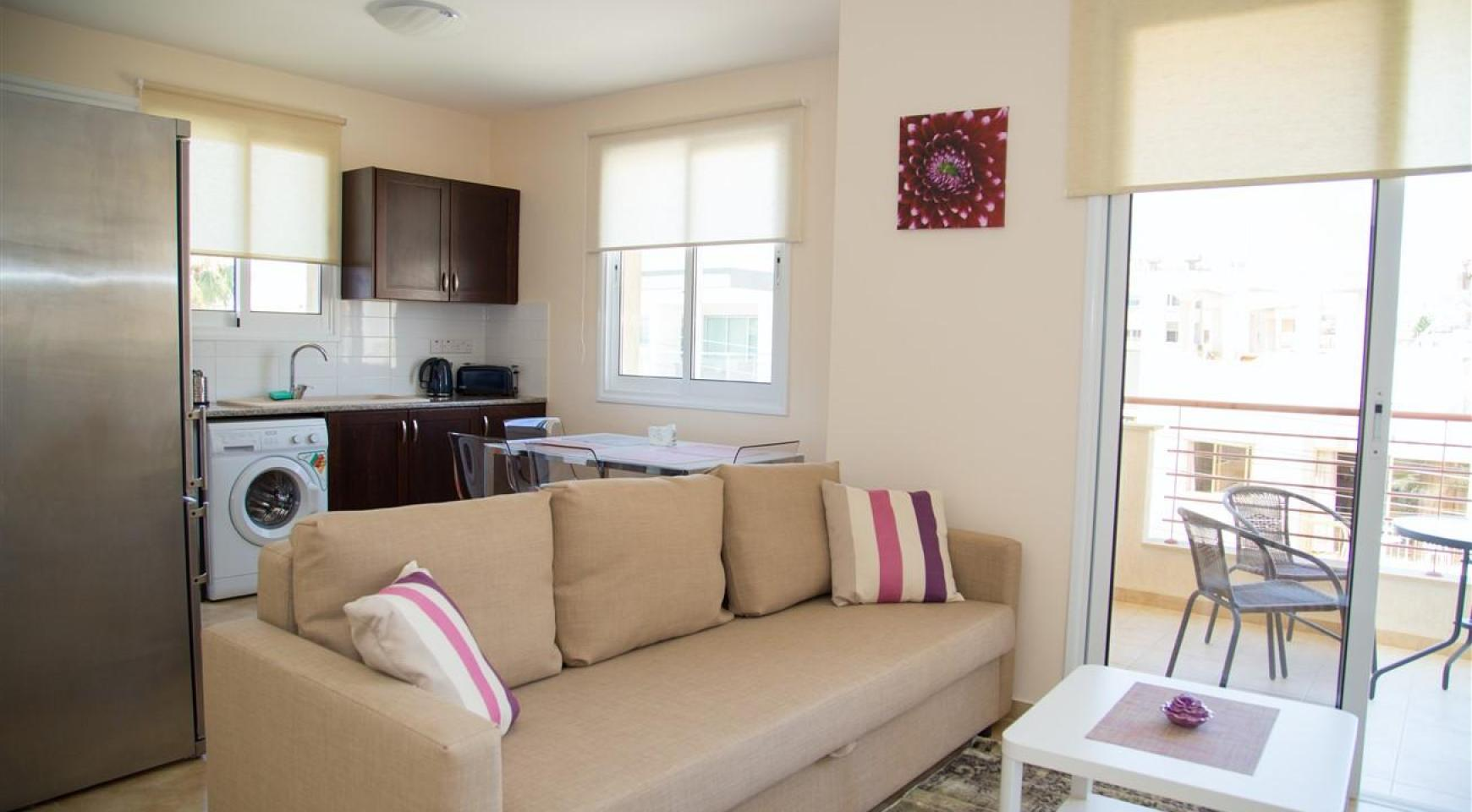 Frida Court. Уютная Просторная Односпальная Квартира 104 в Районе Potamos Germasogeia - 3