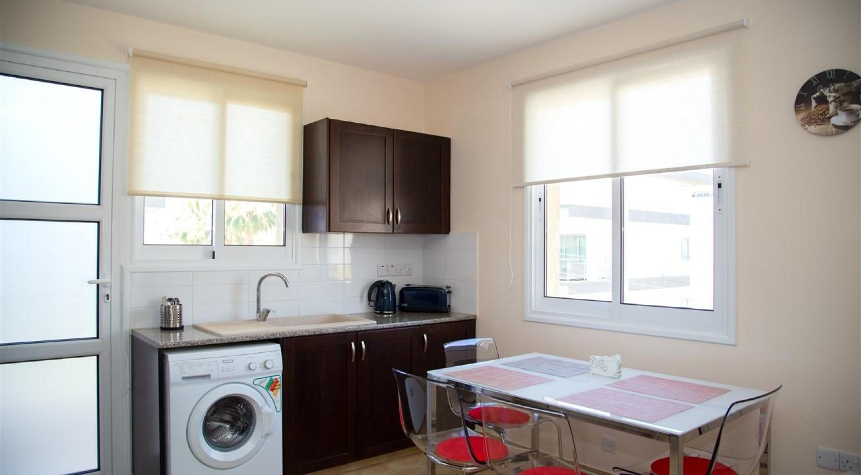 Frida Court. Уютная Просторная Односпальная Квартира 104 в Районе Potamos Germasogeia - 4