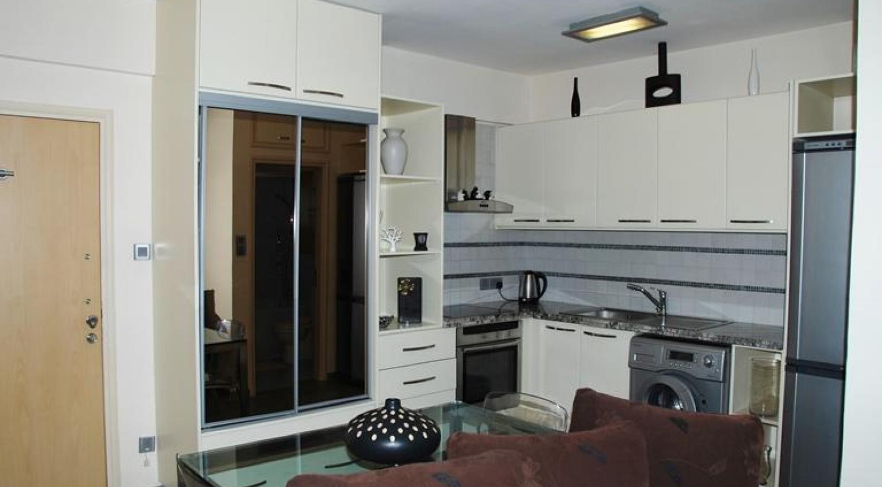 Односпальная Квартира возле Моря в Районе Agios Tychonas - 4