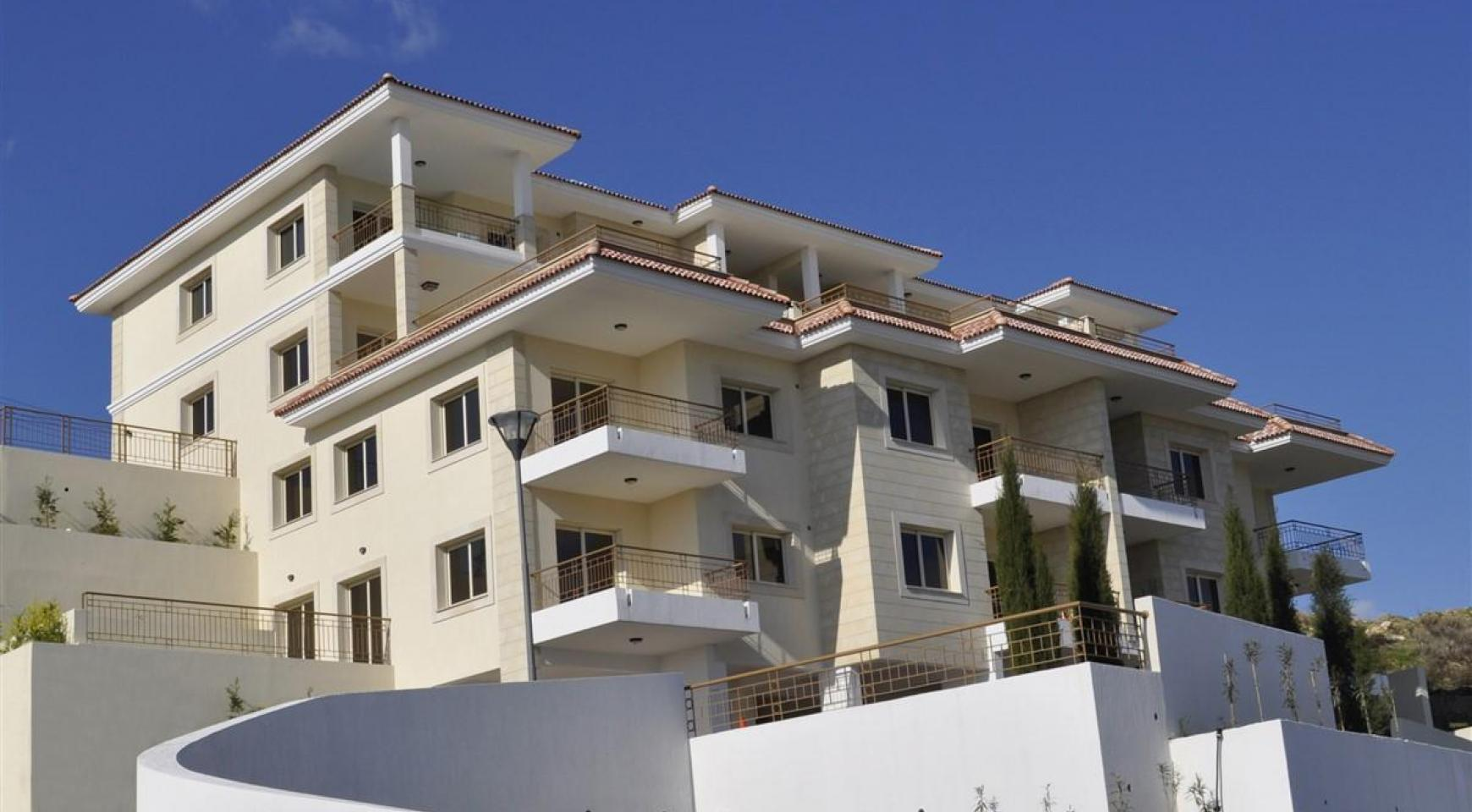 2-Спальная Квартира с Красивыми Видами в Районе Agios Athanasios - 4