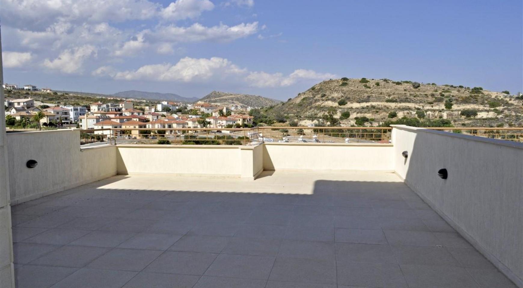 2-Спальная Квартира с Красивыми Видами в Районе Agios Athanasios - 11