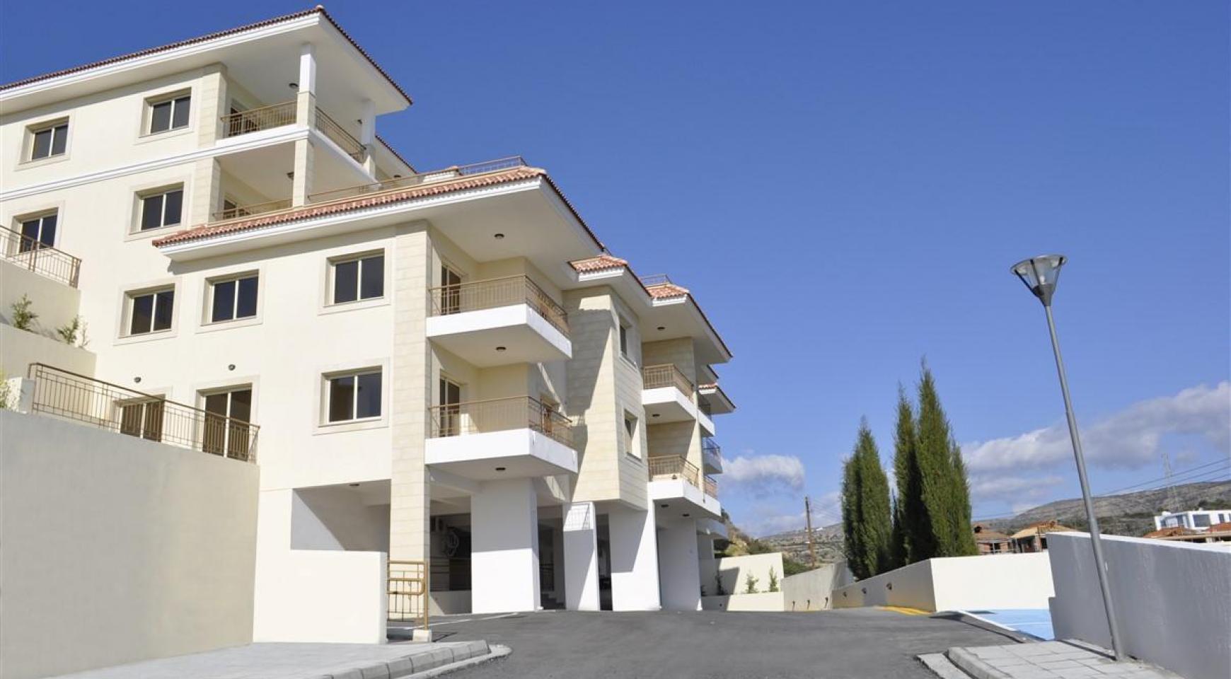 2-Спальная Квартира с Красивыми Видами в Районе Agios Athanasios - 3