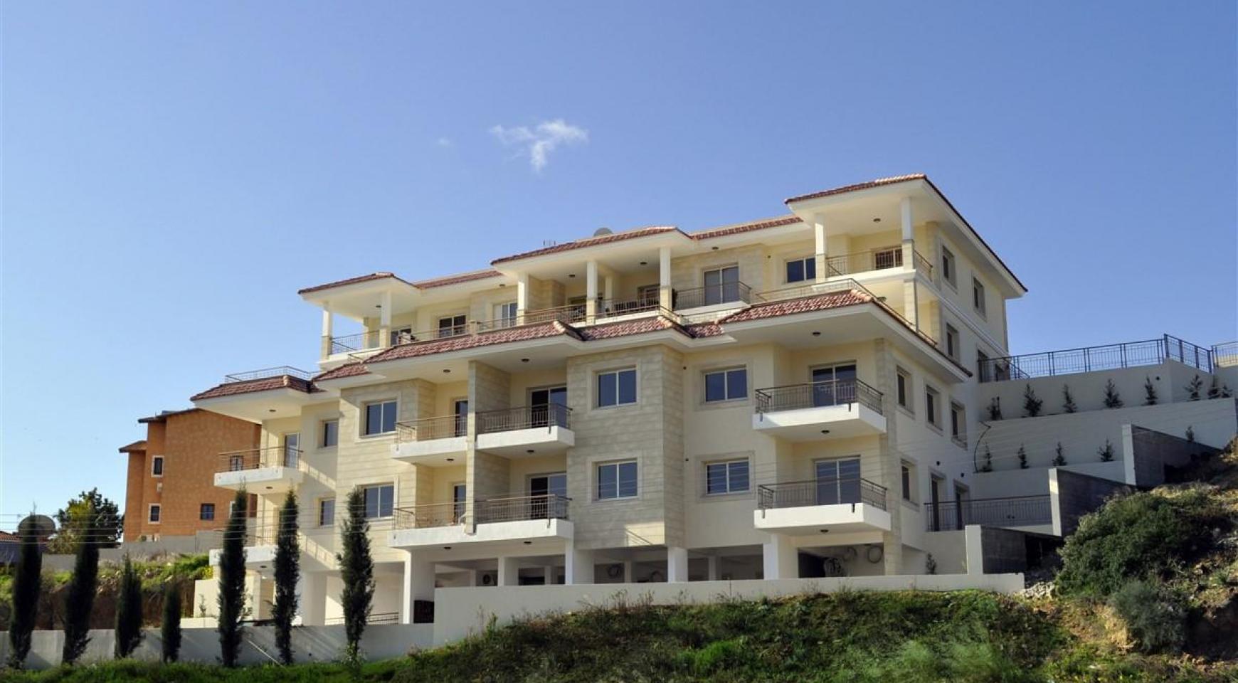 2-Спальная Квартира с Красивыми Видами в Районе Agios Athanasios - 1