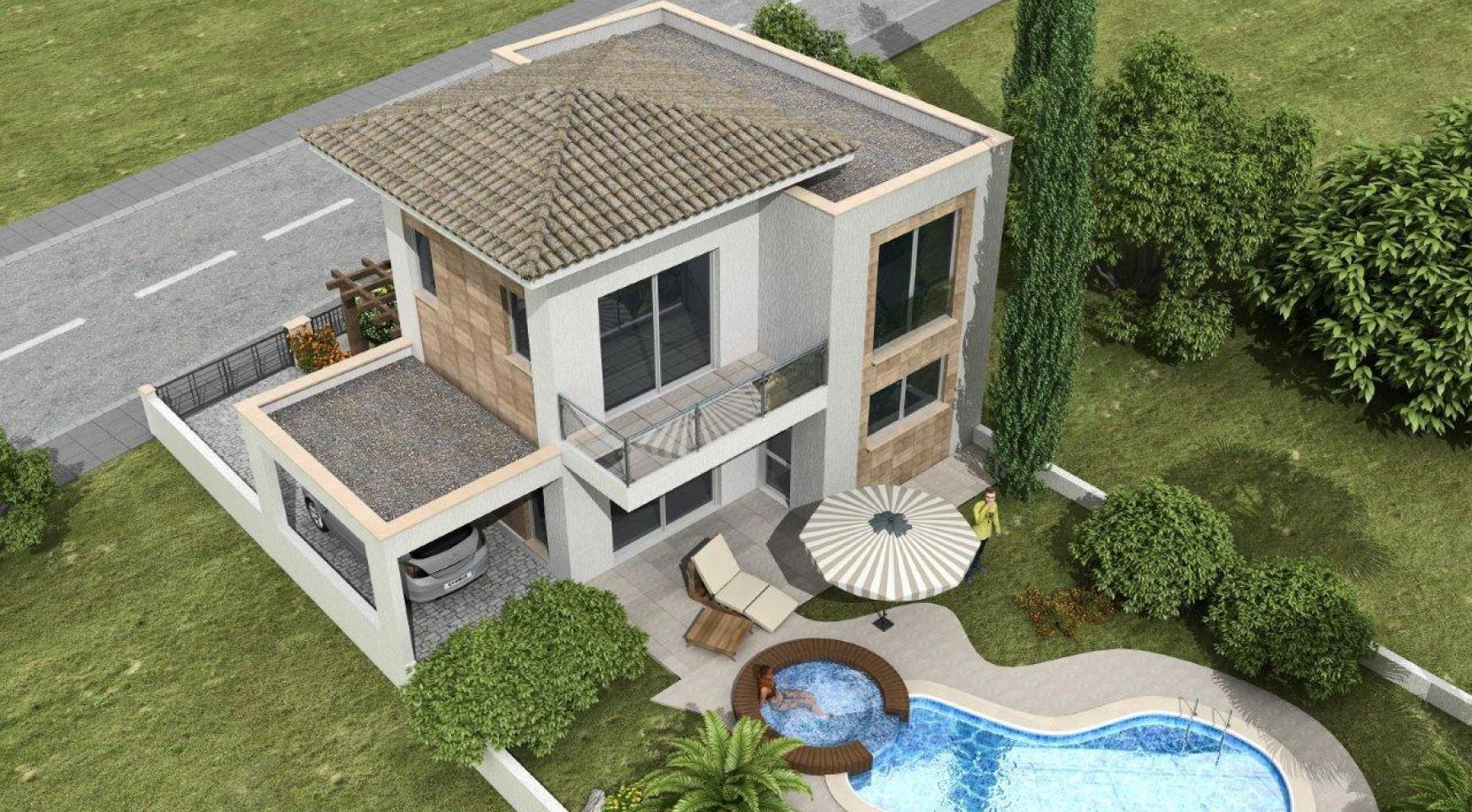 Новая 3-Спальная Вилла в Современном Проекте в Moni - 3