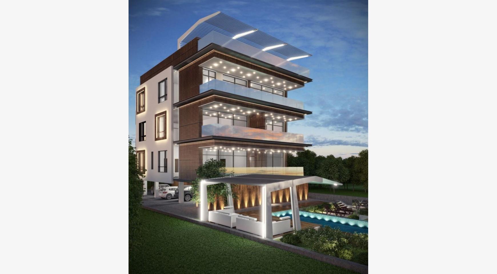 Новая 3-Спальная Квартира с Видом на Море в Туристической Зоне - 2