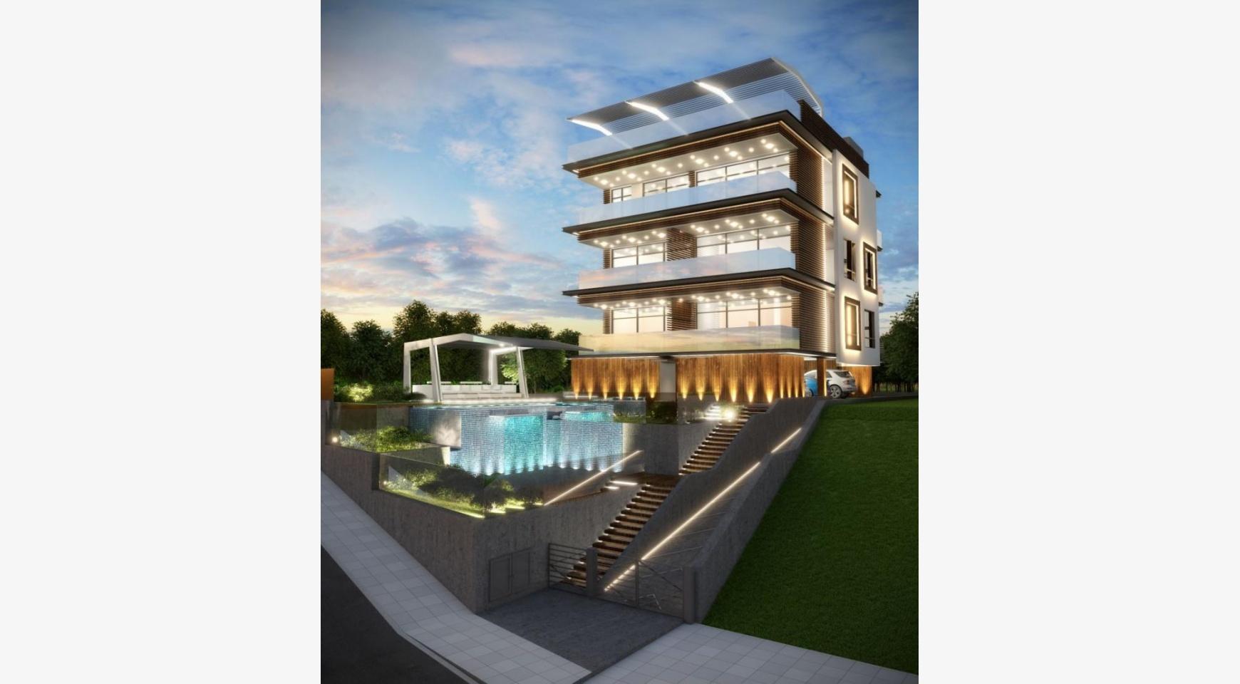 Новая 3-Спальная Квартира с Видом на Море в Туристической Зоне - 1