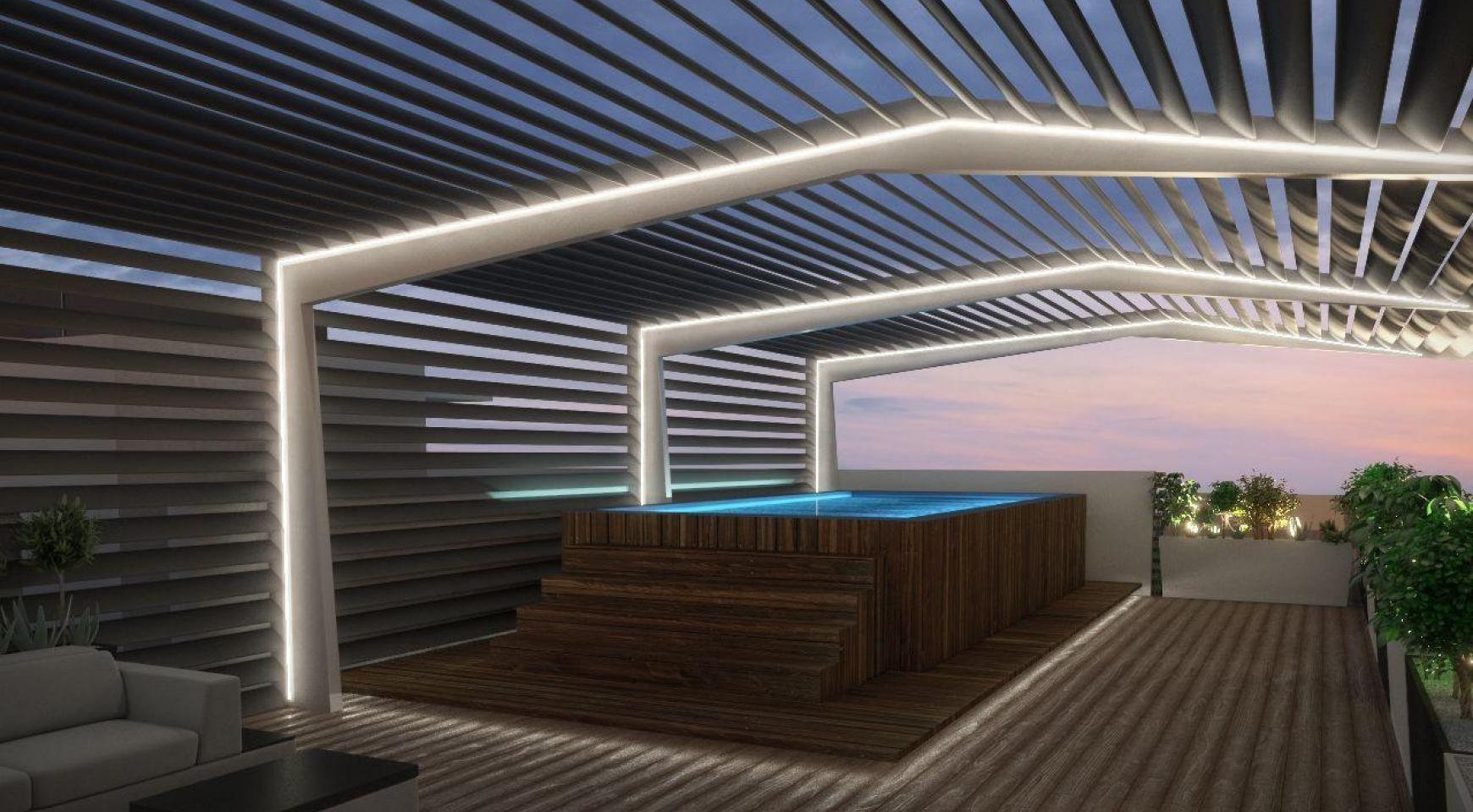 Новая 3-Спальная Квартира с Видом на Море в Туристической Зоне - 4