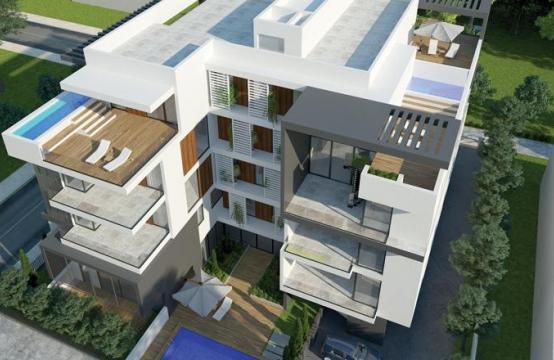 Новая 2-Спальная Квартира с Садом на Крыше в Современном Комплексе