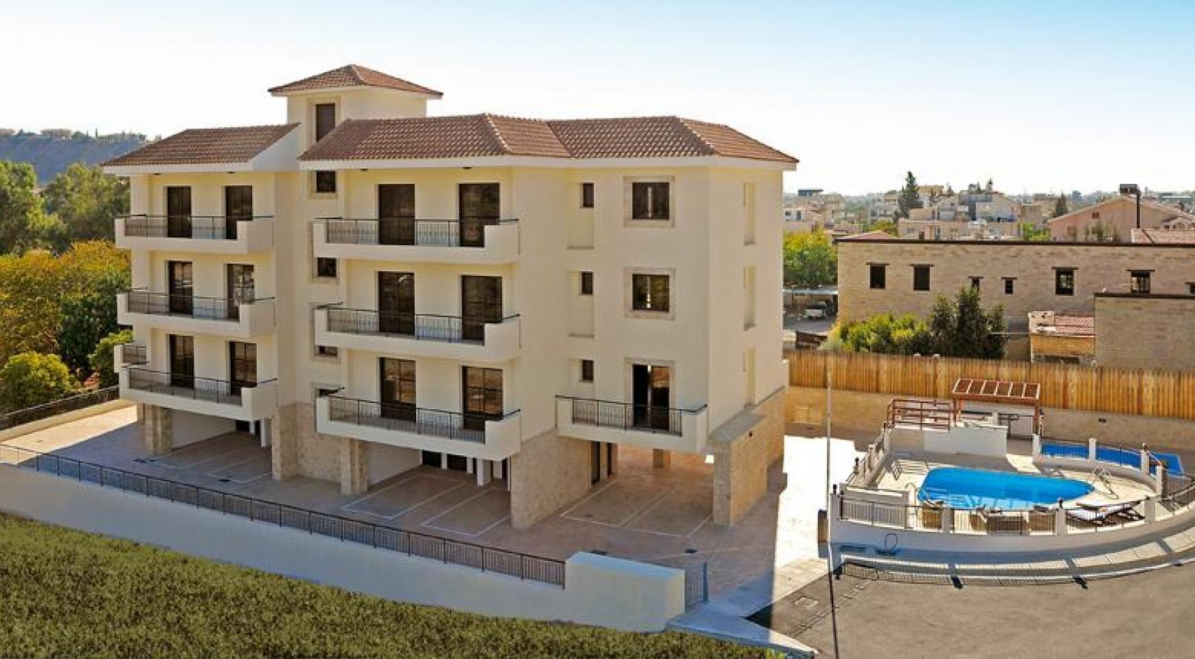 Новая Односпальная Квартира в Районе Germasogeia - 7