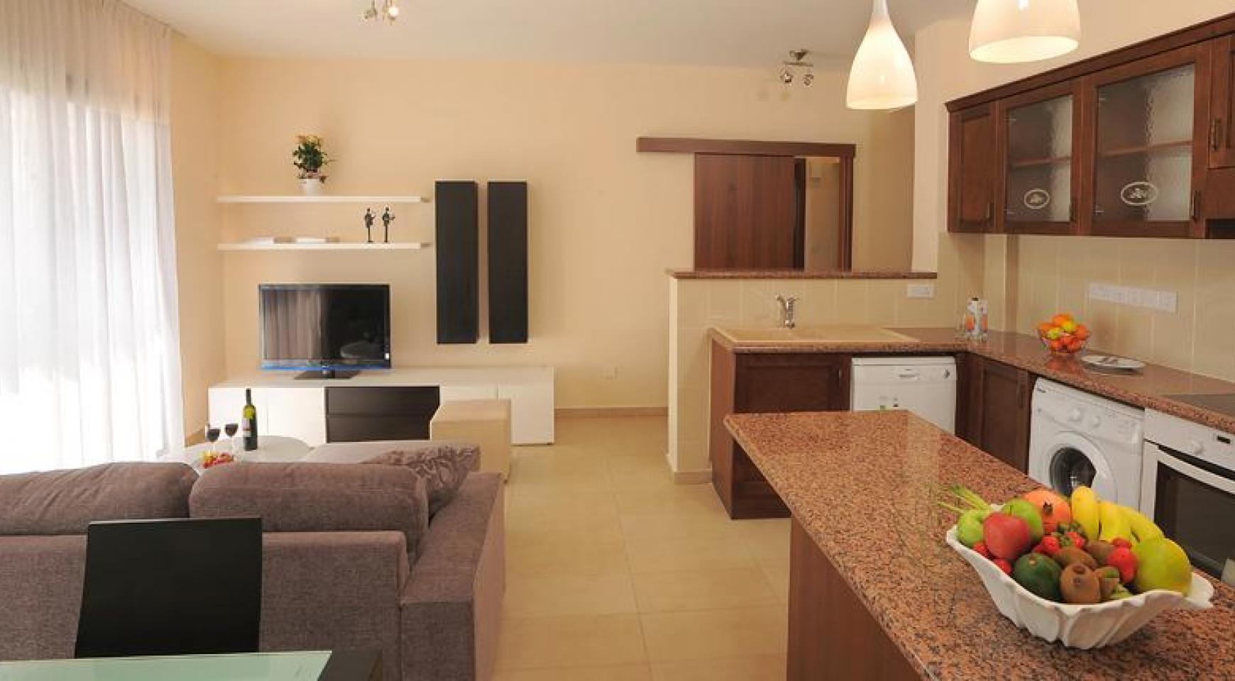 Новая Односпальная Квартира в Районе Germasogeia - 4