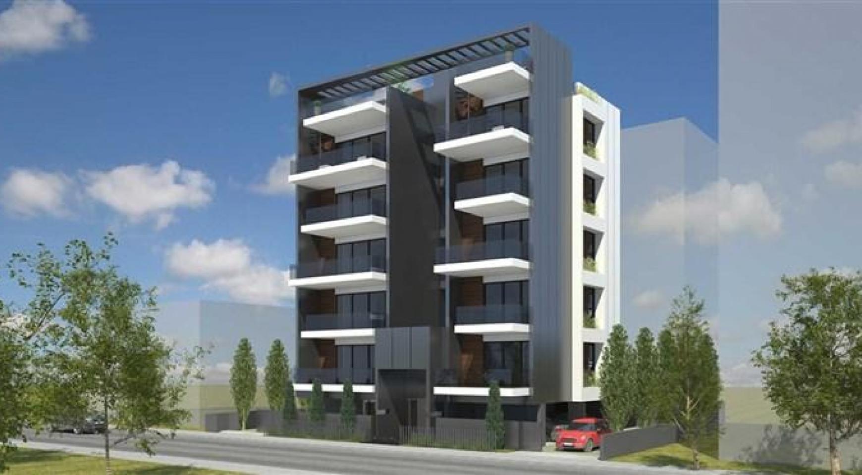 Новая 2-Спальная Квартира возле Моря в Районе Neapolis - 1