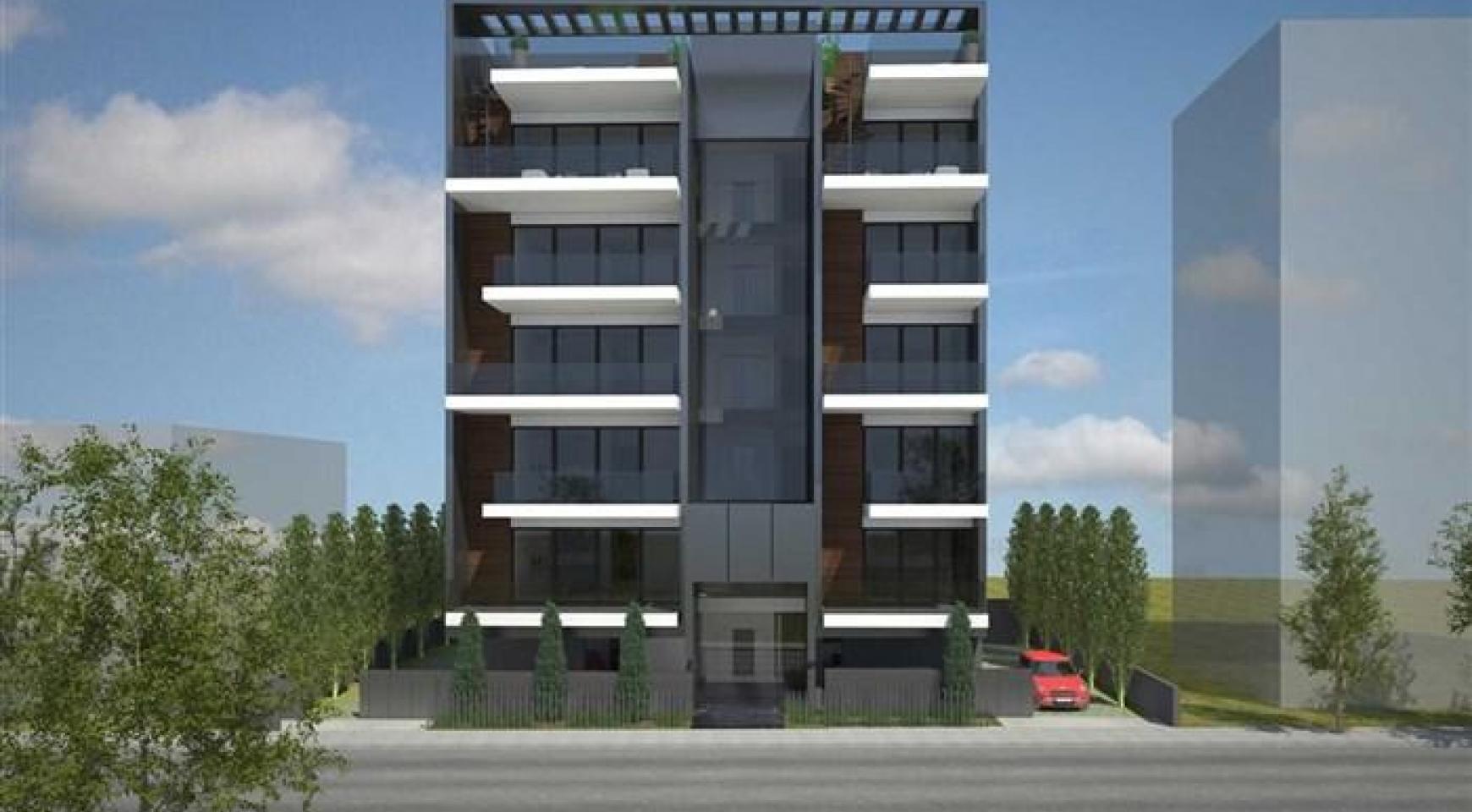 Новая 2-Спальная Квартира возле Моря в Районе Neapolis - 2