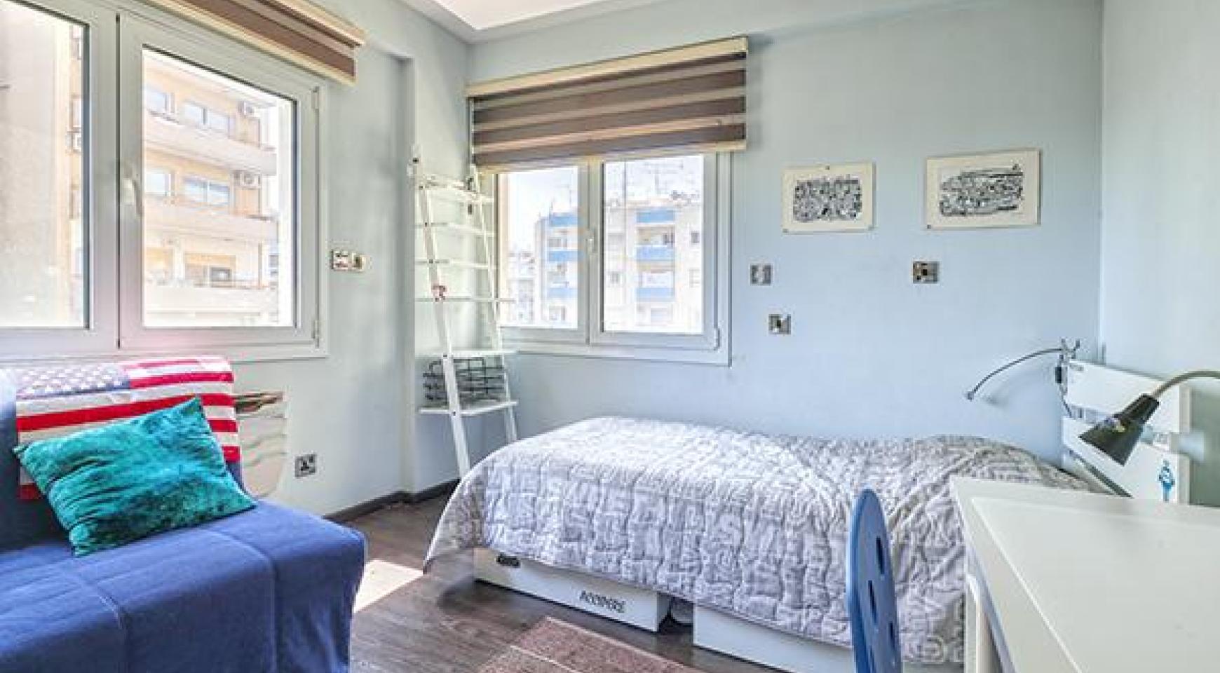 Уютная 3-Спальная Квартира Glafkos 35 в Туристической Зоне - 8