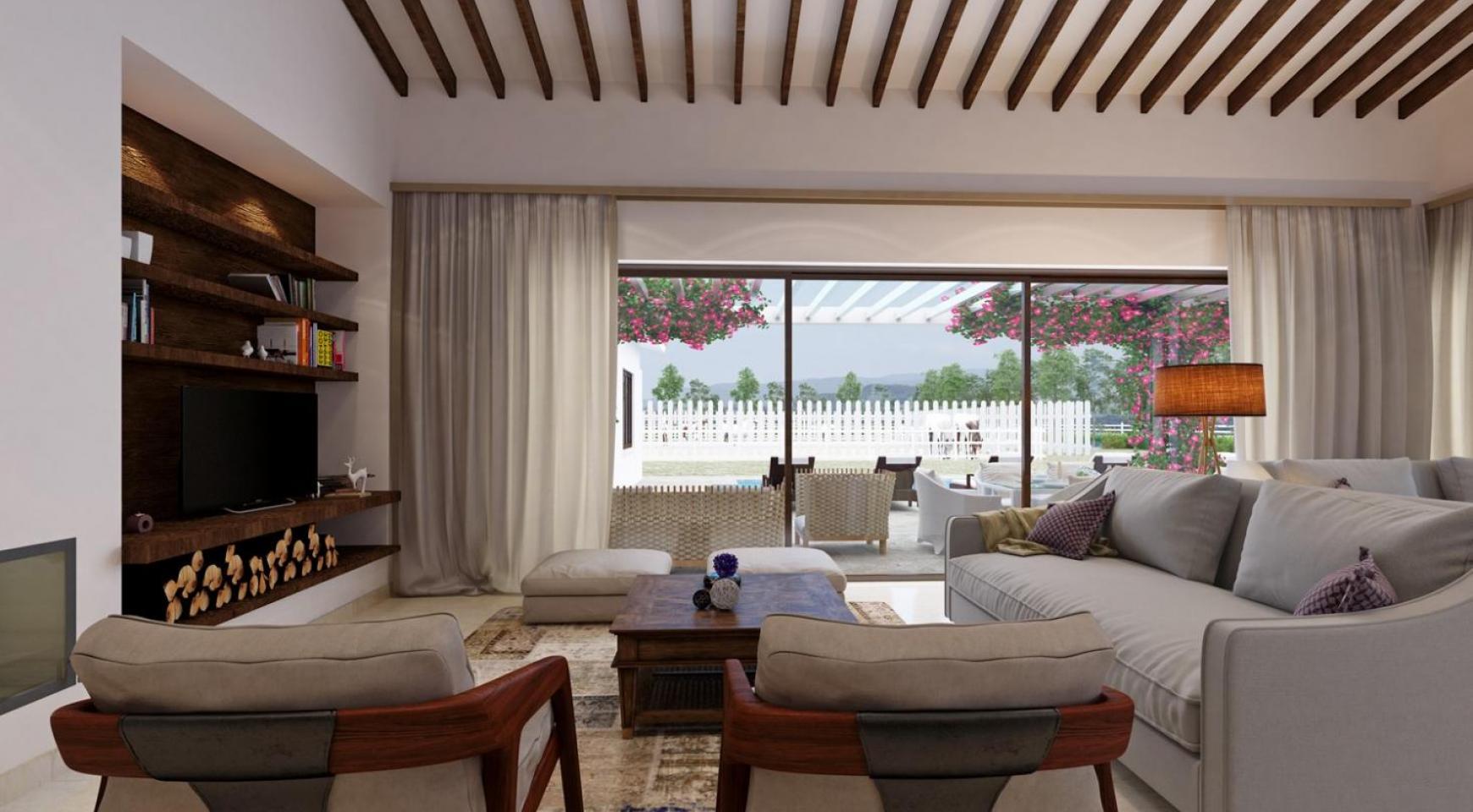 Новое 3-Спальное Бунгало на Большом Участке Земли возле Latsi - 3