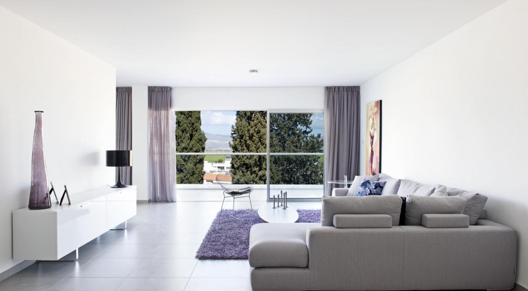 Современная 3-Спальная Квартира в Районе Aglantzia - 5