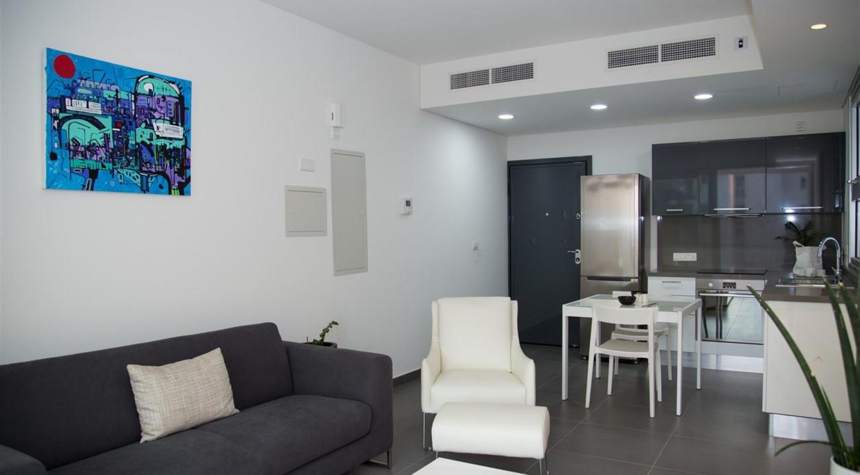 Элитная Односпальная Квартира в Новом Комплексе - 15