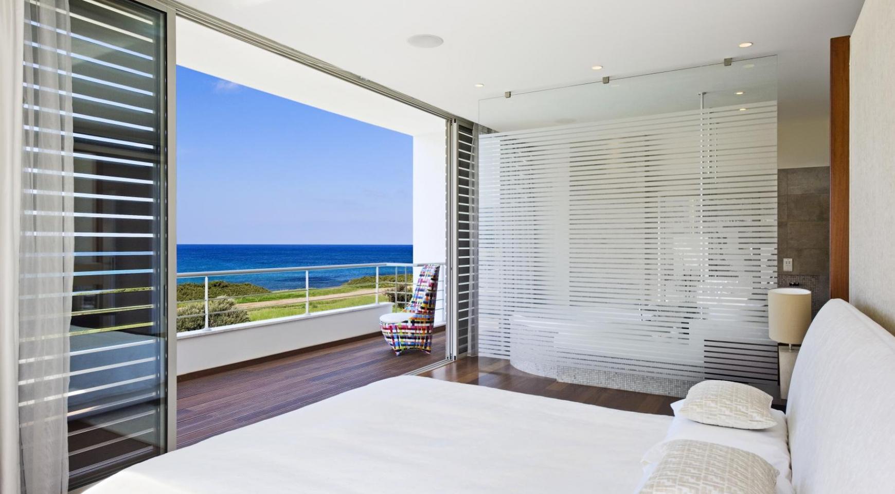Эксклюзивная 4-Спальная Вилла с Видом на Море возле Latsi - 9