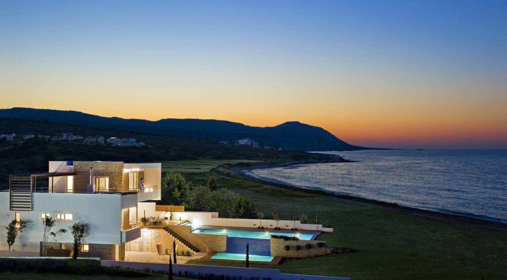 Эксклюзивная 4-Спальная Вилла с Видом на Море возле Latsi - 15
