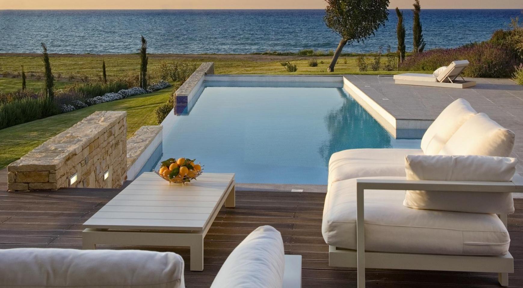 Эксклюзивная 4-Спальная Вилла с Видом на Море возле Latsi - 7
