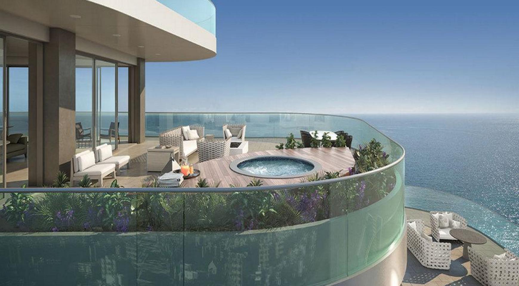 3-Спальная Квартира Класса Люкс в Эксклюзивном Проекте у Моря  - 3