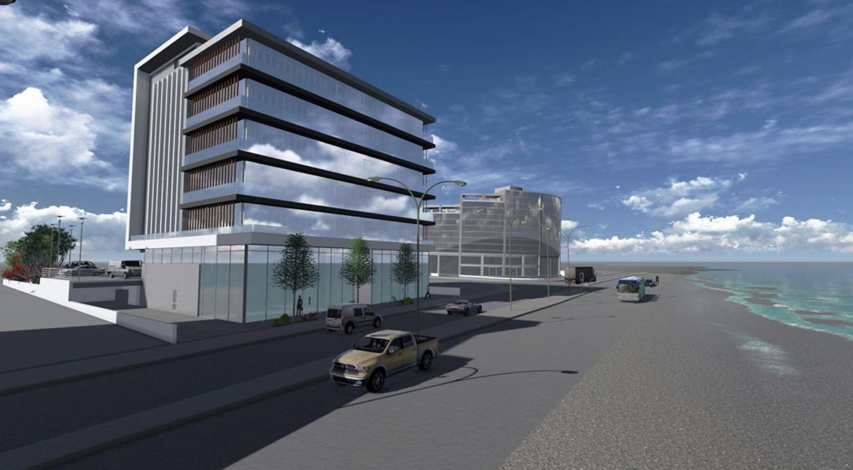 Новый Офис Класса Люкс в Престижном Расположении у Моря - 1
