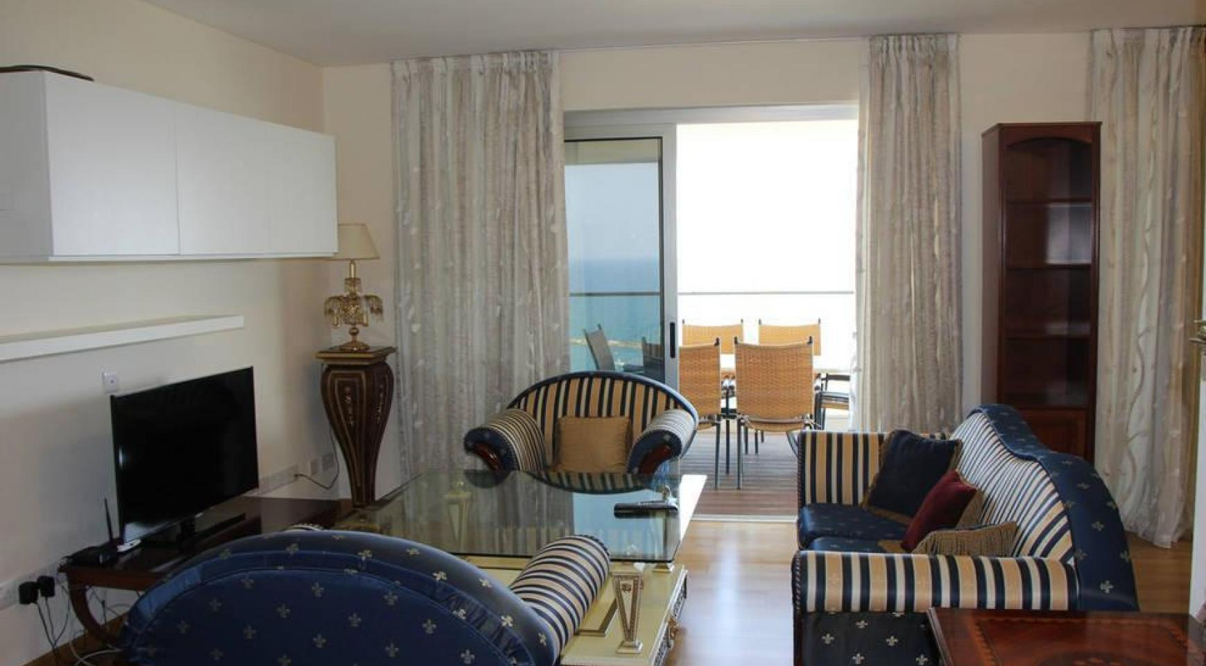 Элитная 2-Спальная Квартира с Изумительным Видом на Море - 16