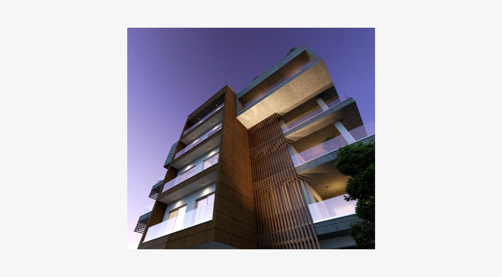 Новая Современная 3-Спальная Квартира в Районе Mesa Geitonia  - 2