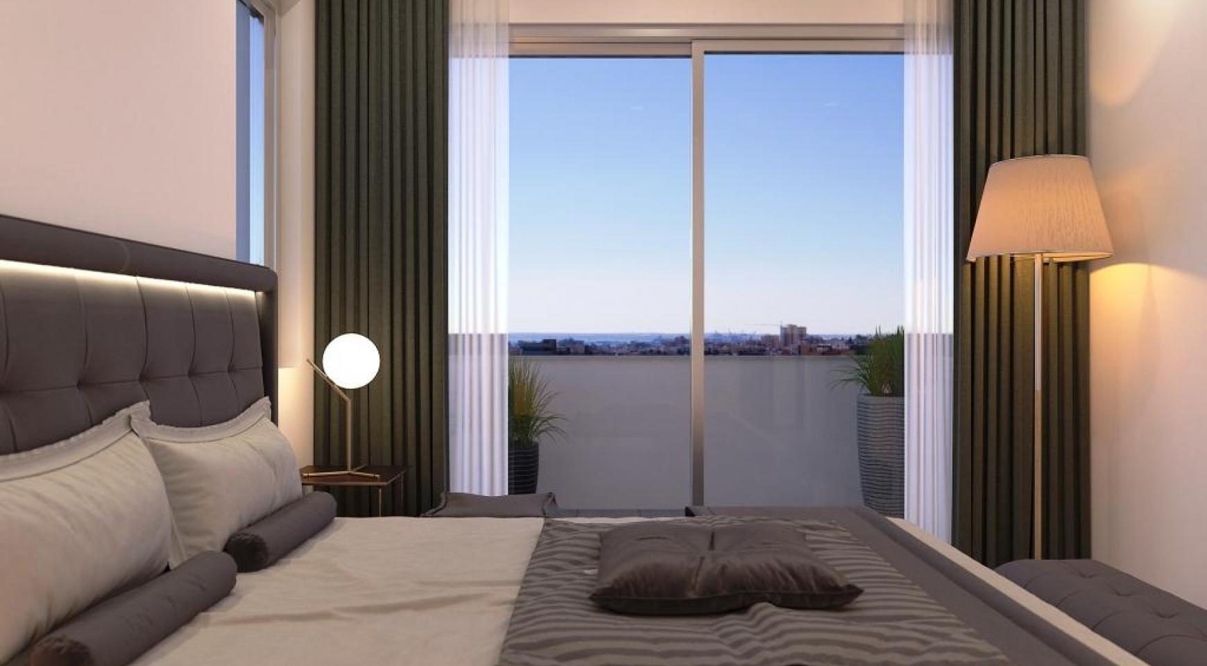 Новая Современная 3-Спальная Квартира в Районе Mesa Geitonia  - 16
