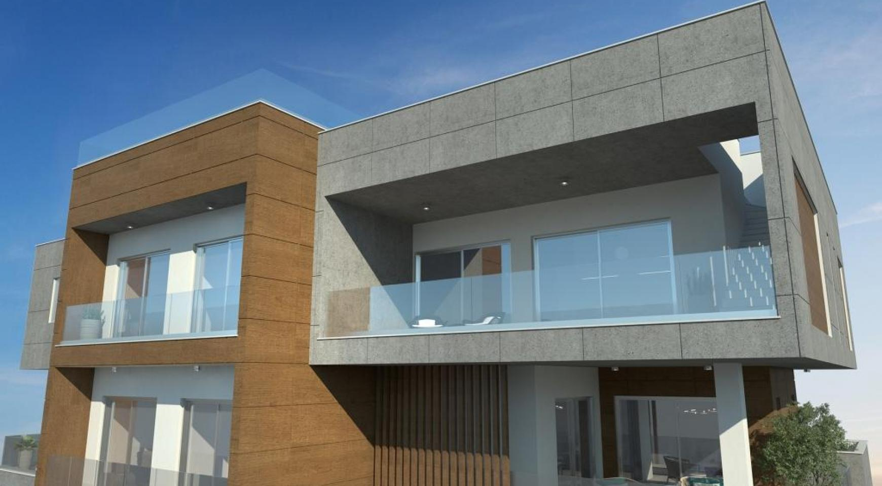 Новая Современная 2-Спальная Квартира в Районе Mesa Geitonia  - 8