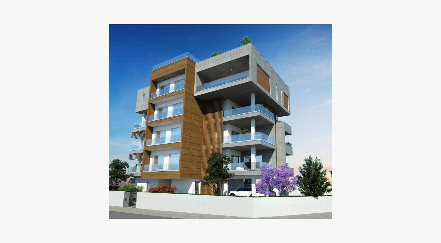 Новая Современная 2-Спальная Квартира в Районе Mesa Geitonia  - 5