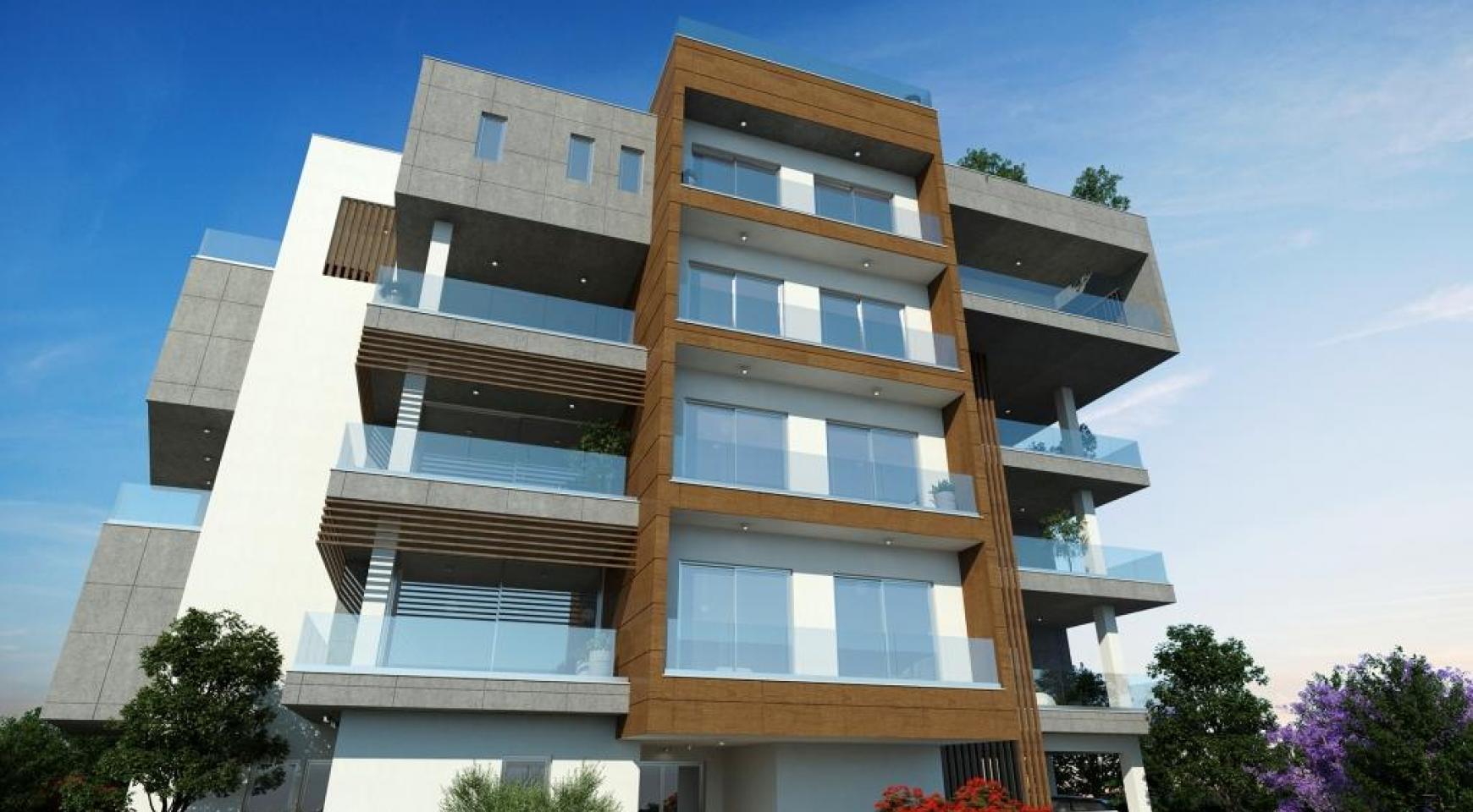 Новая Современная 2-Спальная Квартира в Районе Mesa Geitonia  - 10