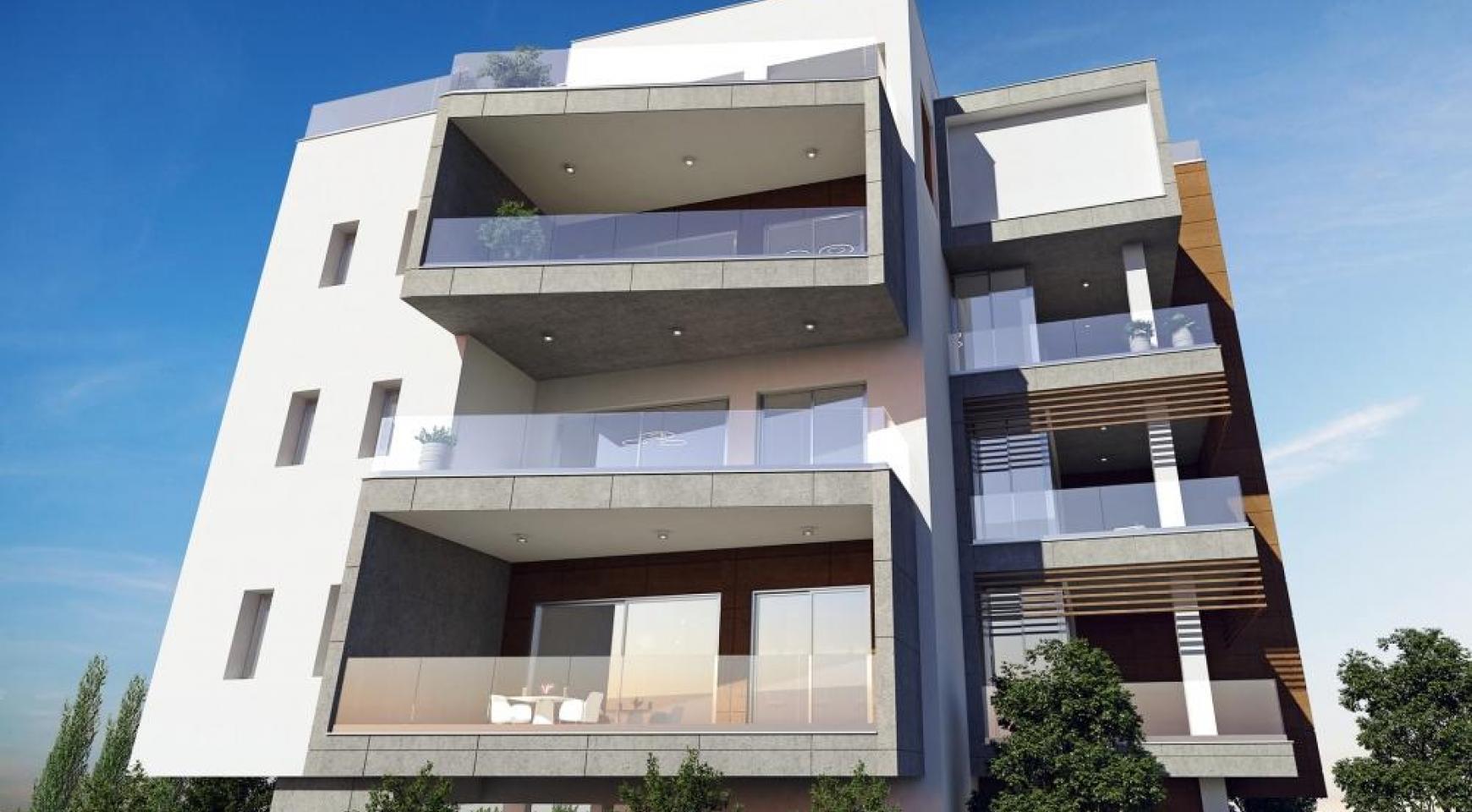 Новая Современная 2-Спальная Квартира в Районе Mesa Geitonia  - 7