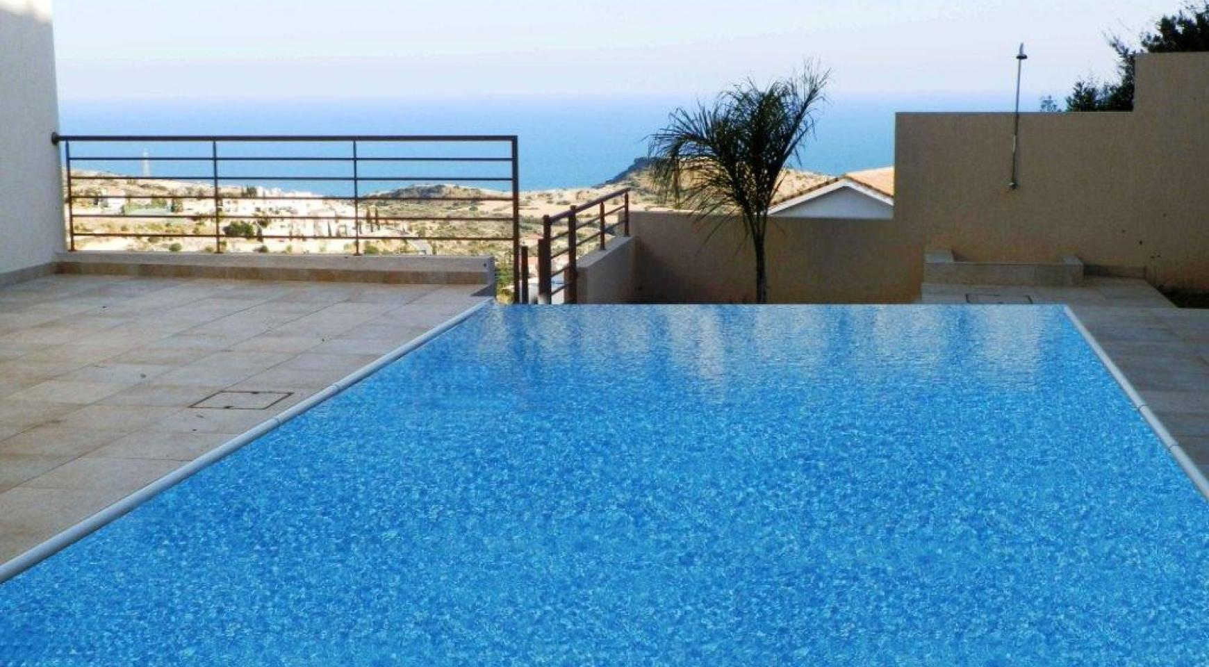 Элитная 4-Спальная Вилла с Прекрасным Видом на Море в Районе Agios Tychonas - 4