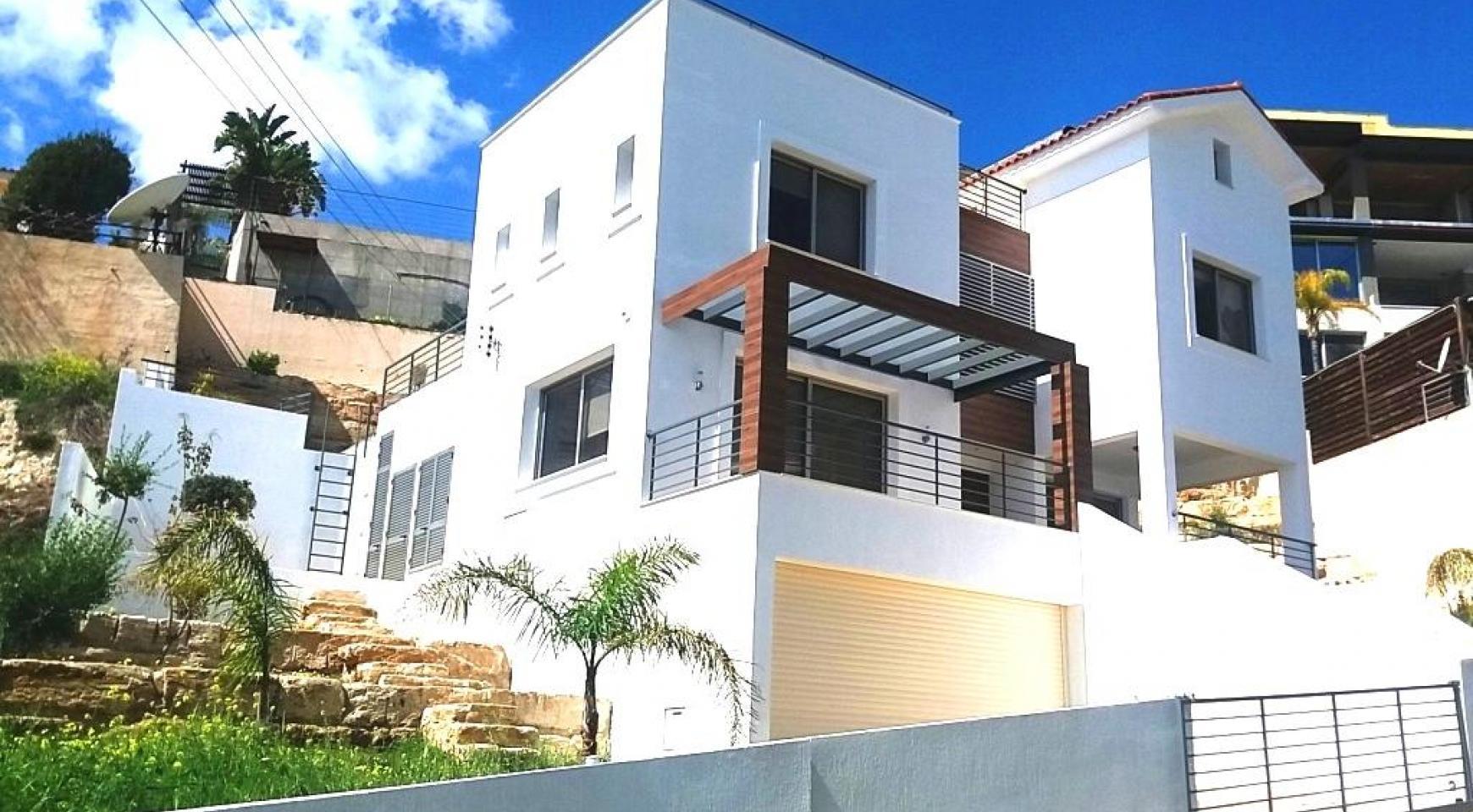Элитная 4-Спальная Вилла с Прекрасным Видом на Море в Районе Agios Tychonas - 6