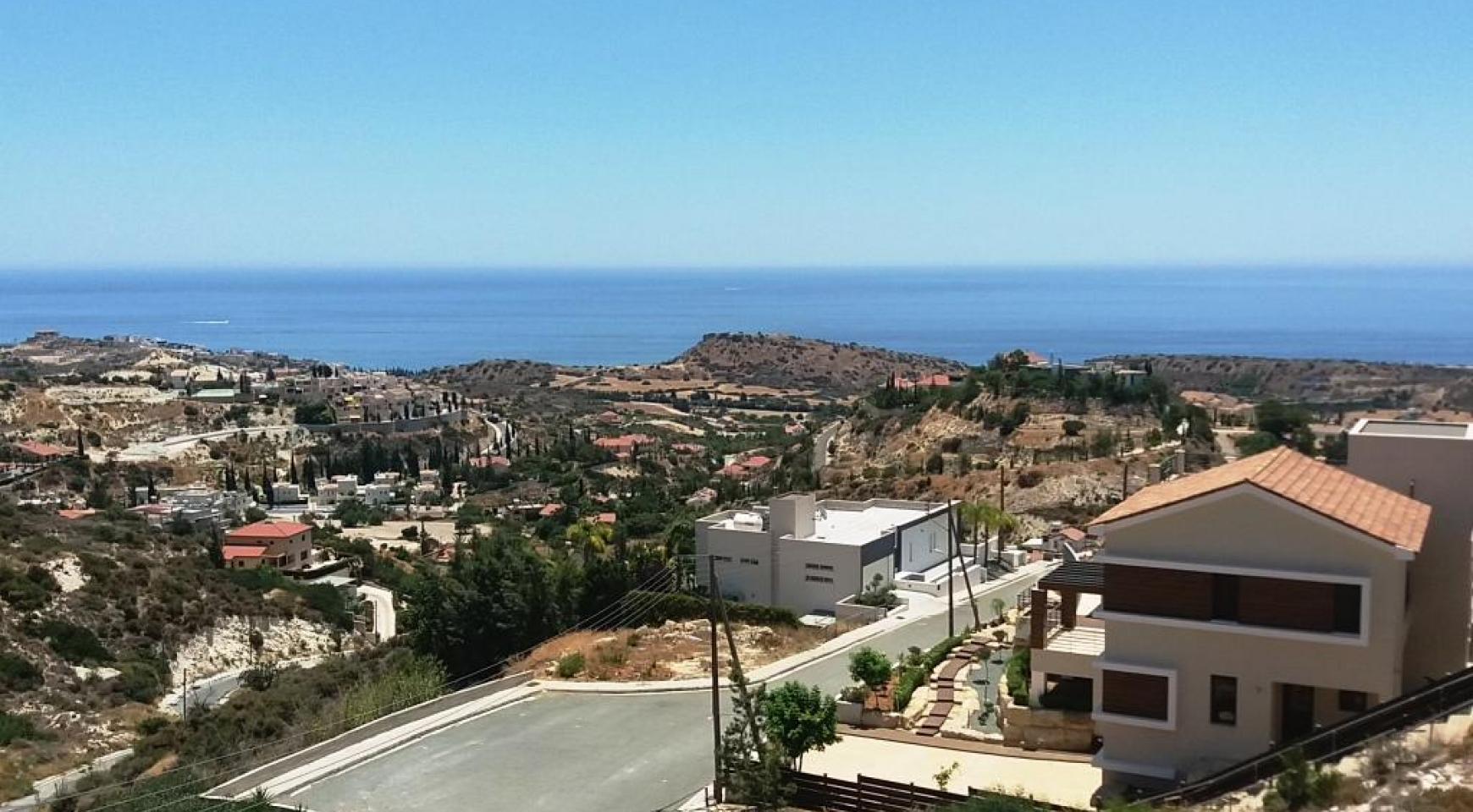 Элитная 4-Спальная Вилла с Прекрасным Видом на Море в Районе Agios Tychonas - 3